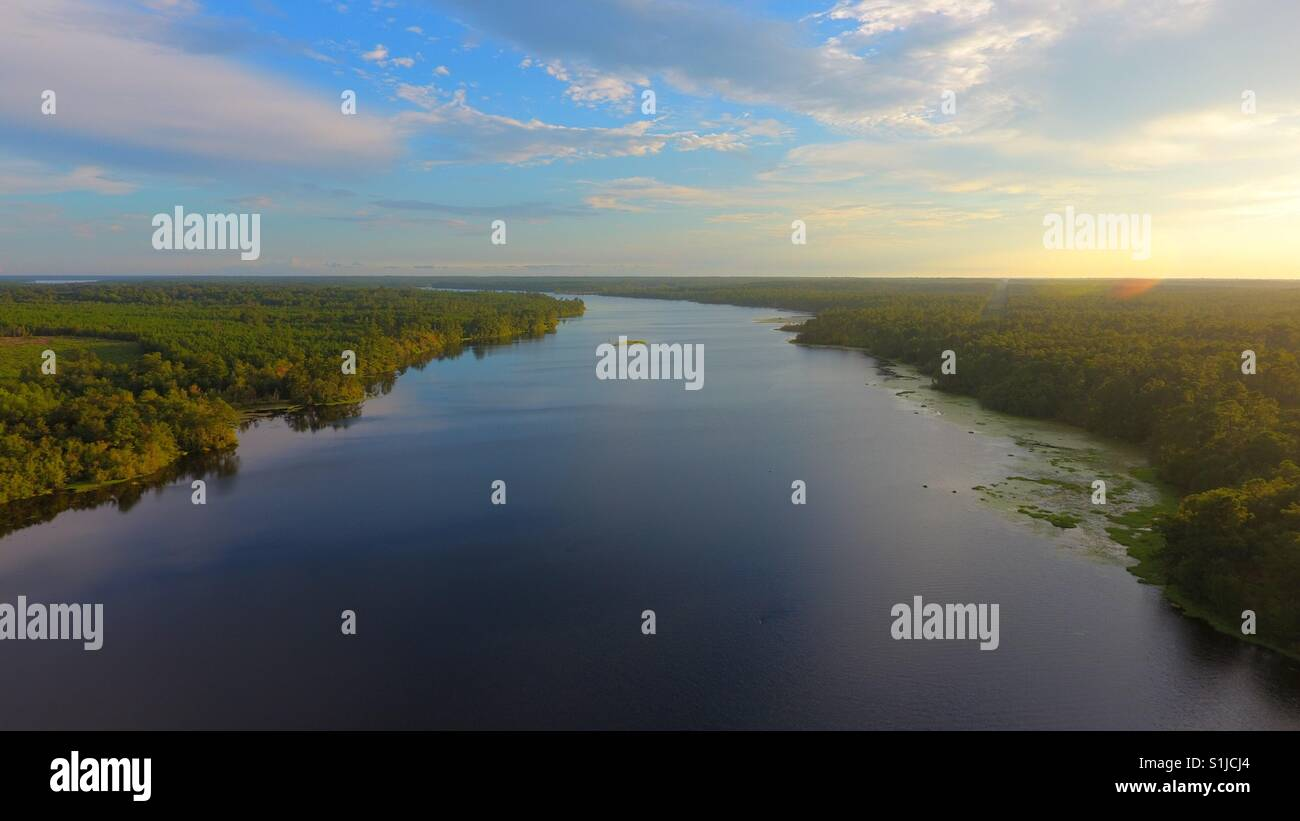 Big Creek Lake - Stock Image