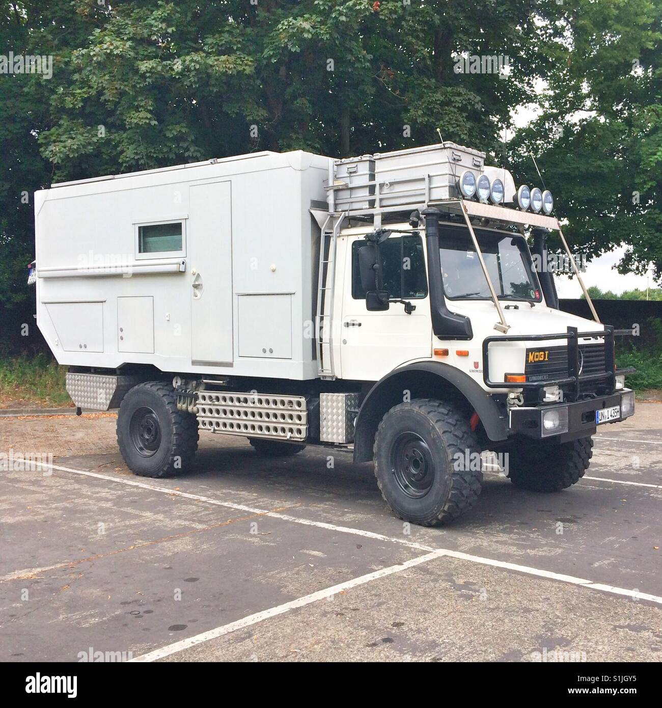 Mercedes Unimog All Terrain Expedition Camper Van