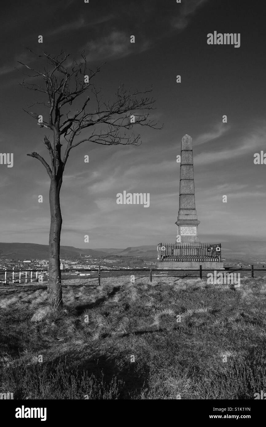 Hyde War Memorial - Stock Image