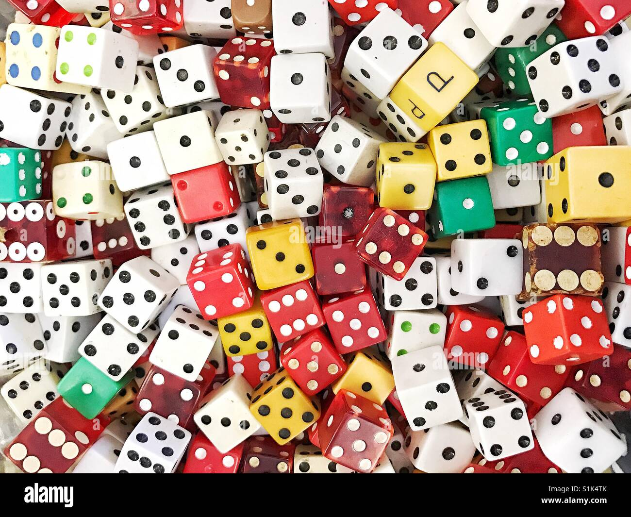 Multi Colored Dice Stock Photos & Multi Colored Dice Stock Images ...