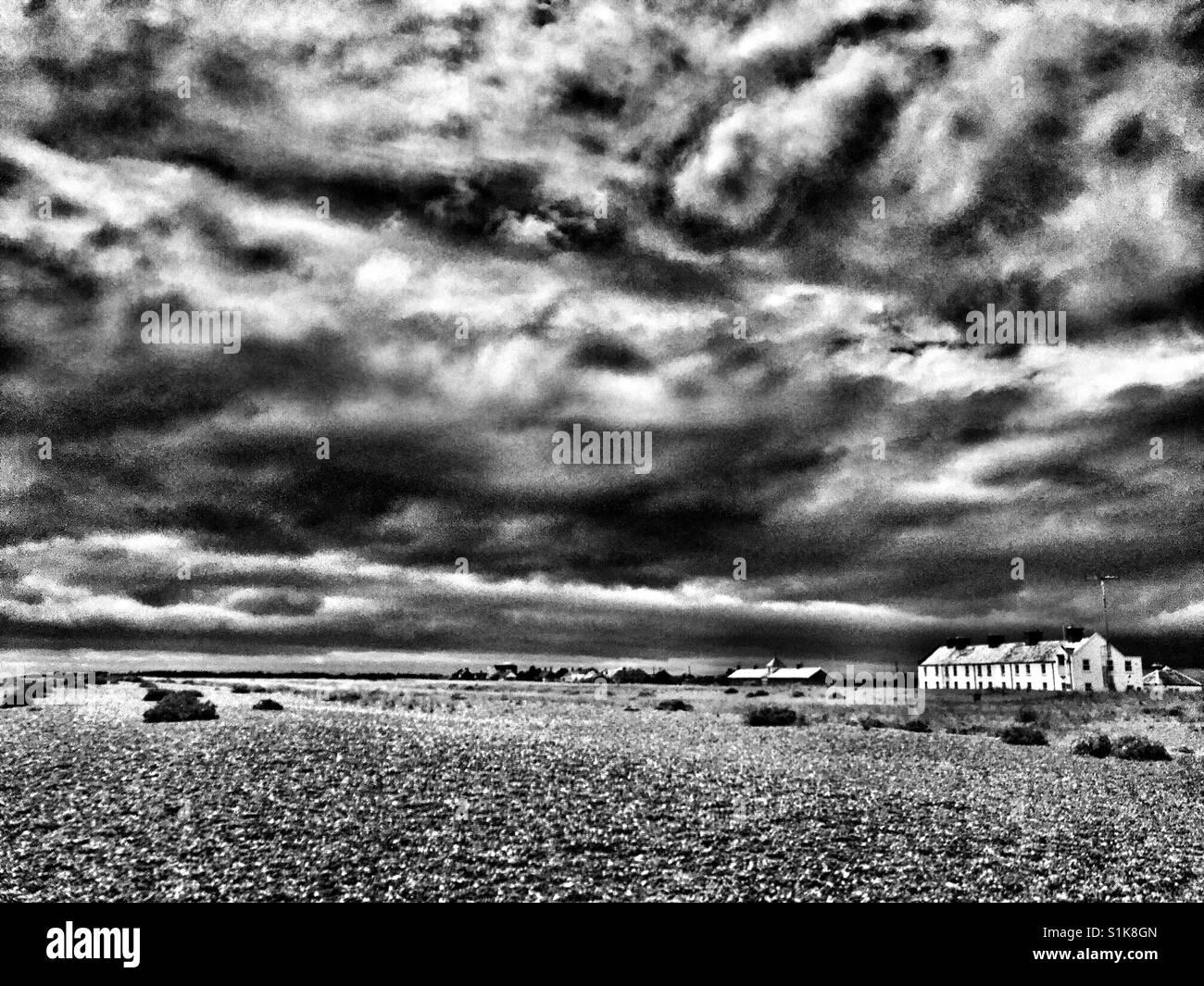 Seaside properties - Stock Image