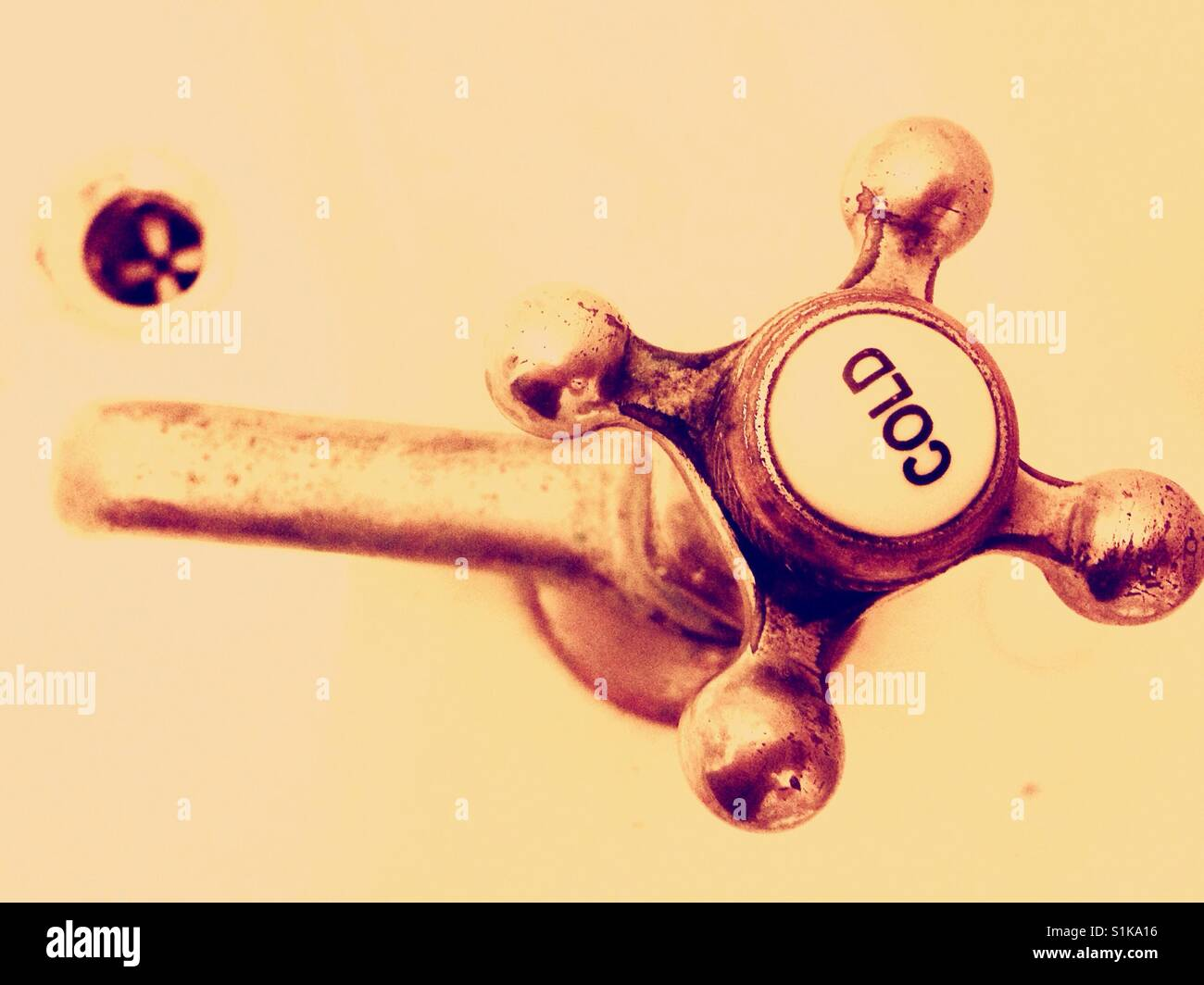 Cold tap- North Carolina - Stock Image