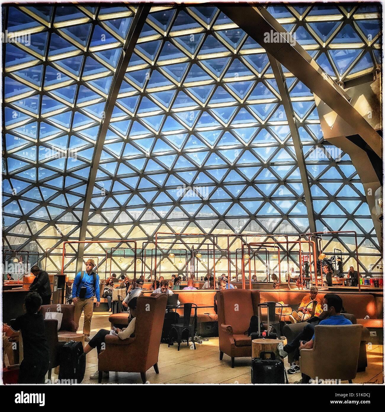 Rome Airport - Stock Image