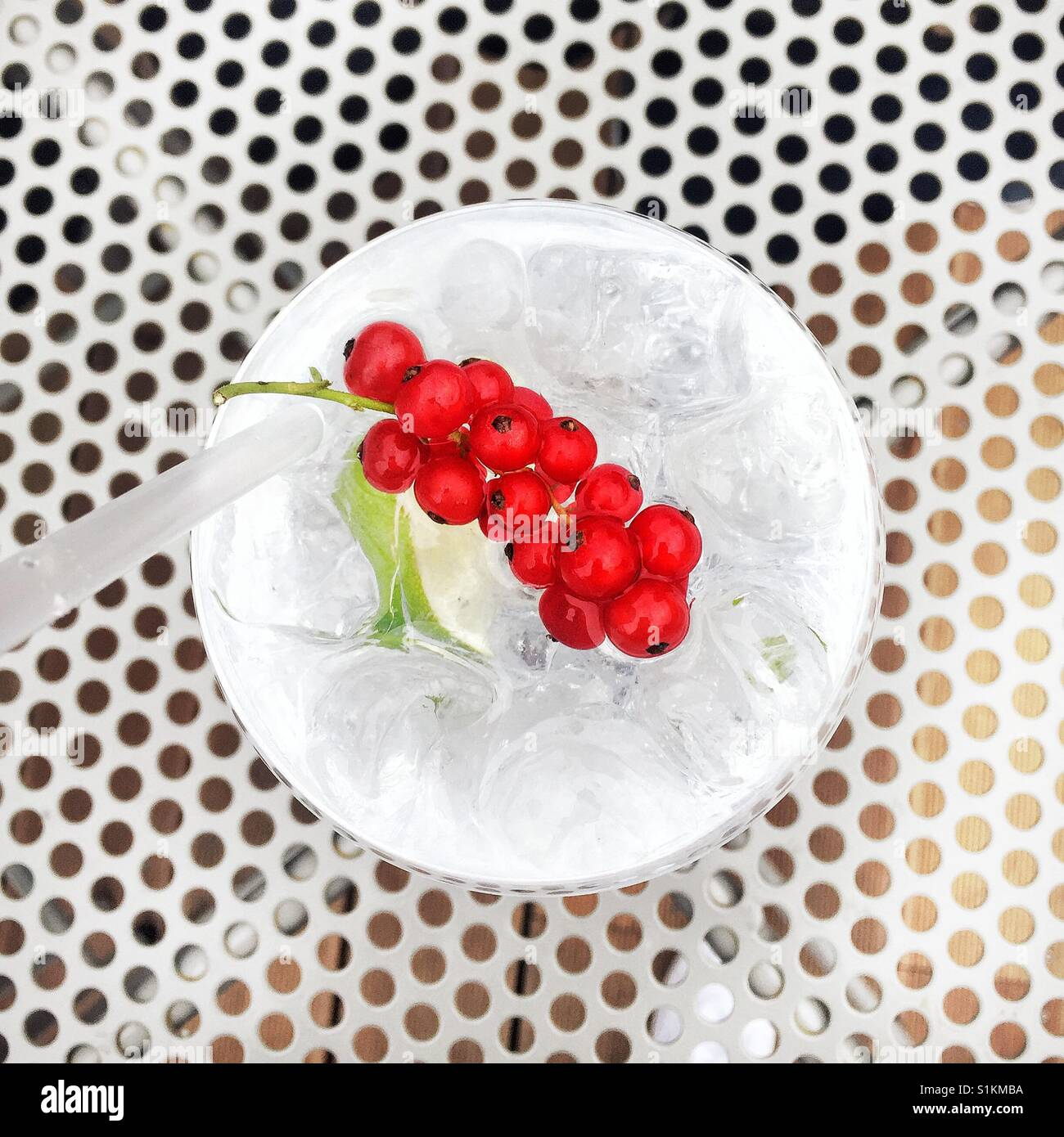 Cocktail hour - Stock Image