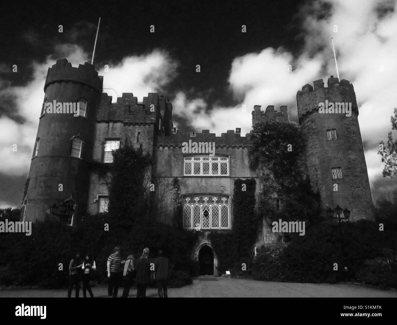Castle in Dublin Ireland - Stock Image