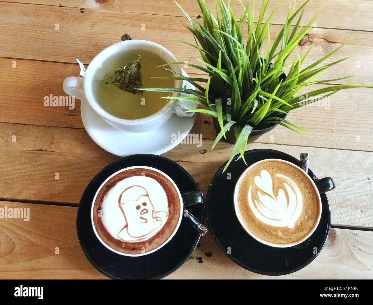 An awesome gathering starts with nice caffeine ! - Stock Image
