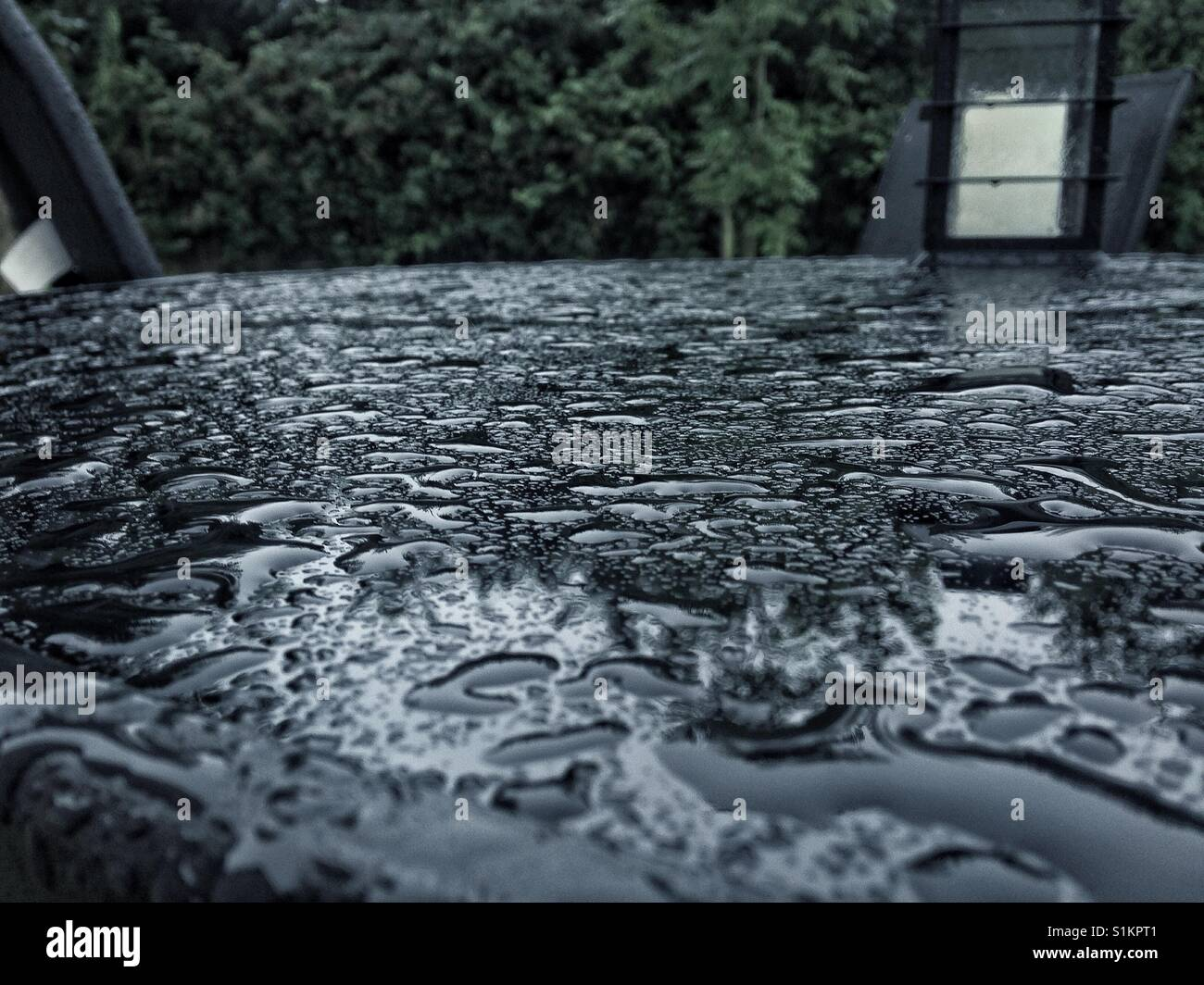 Dull rainy day - Stock Image