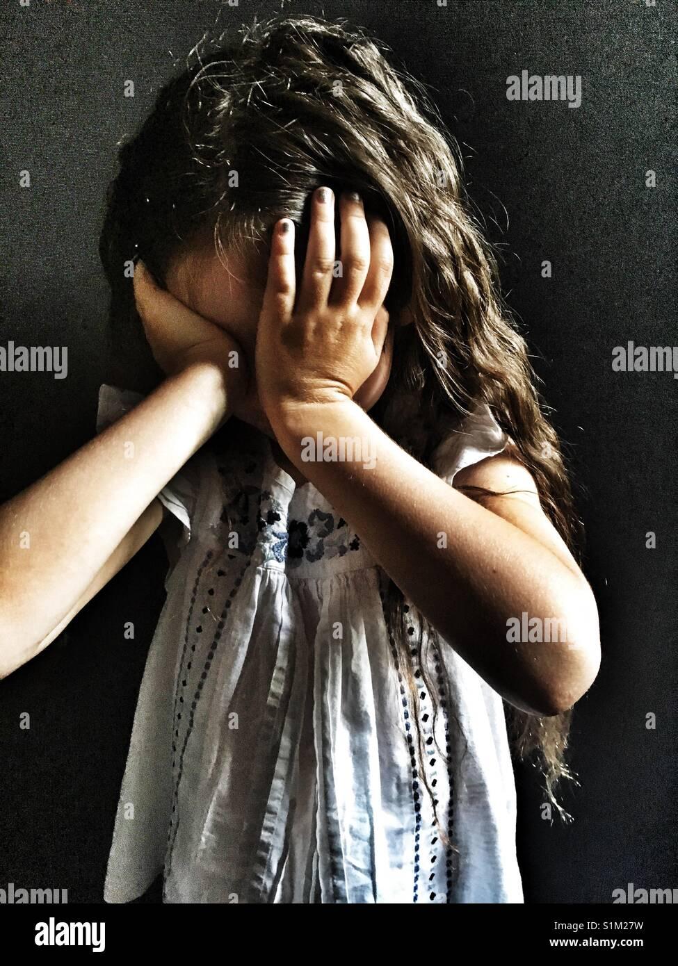 Upset child - Stock Image