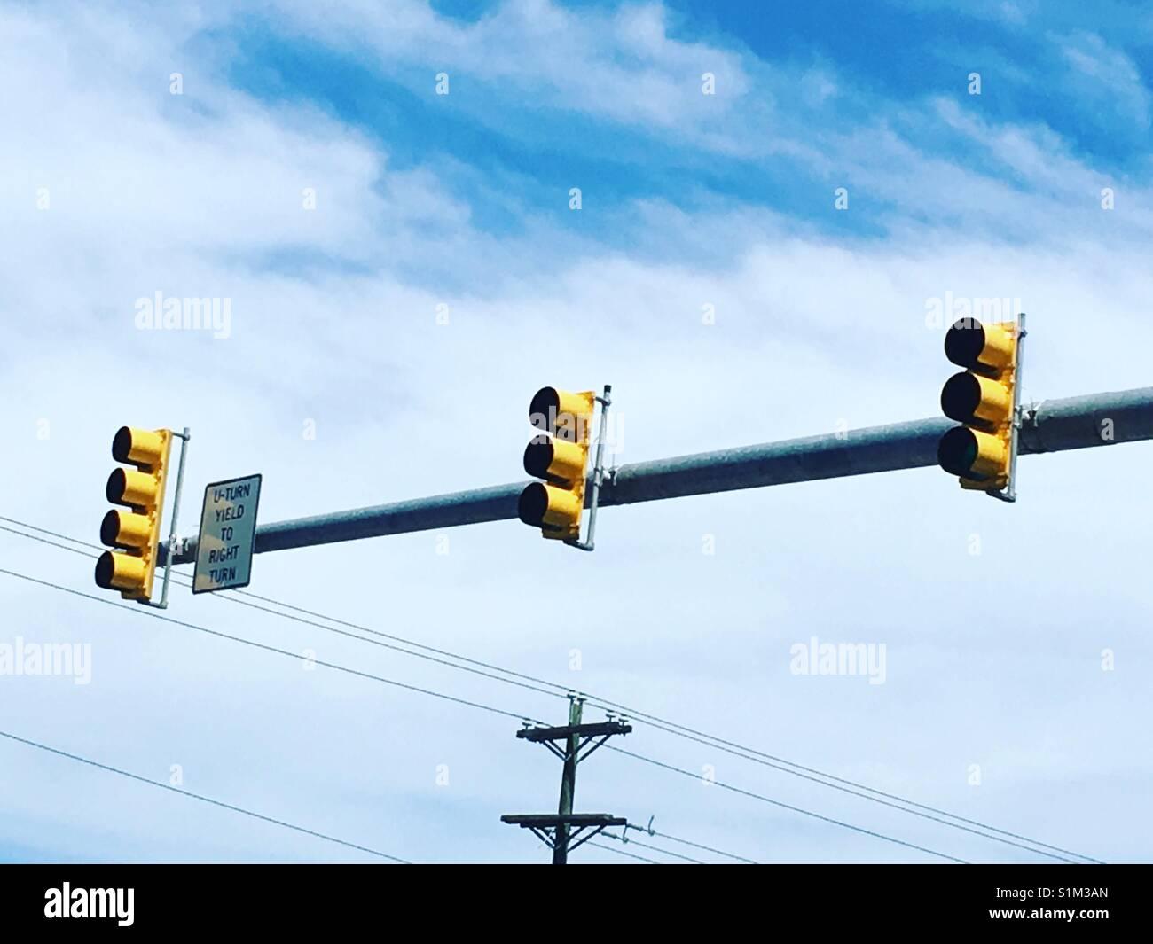 Stoplight - Stock Image