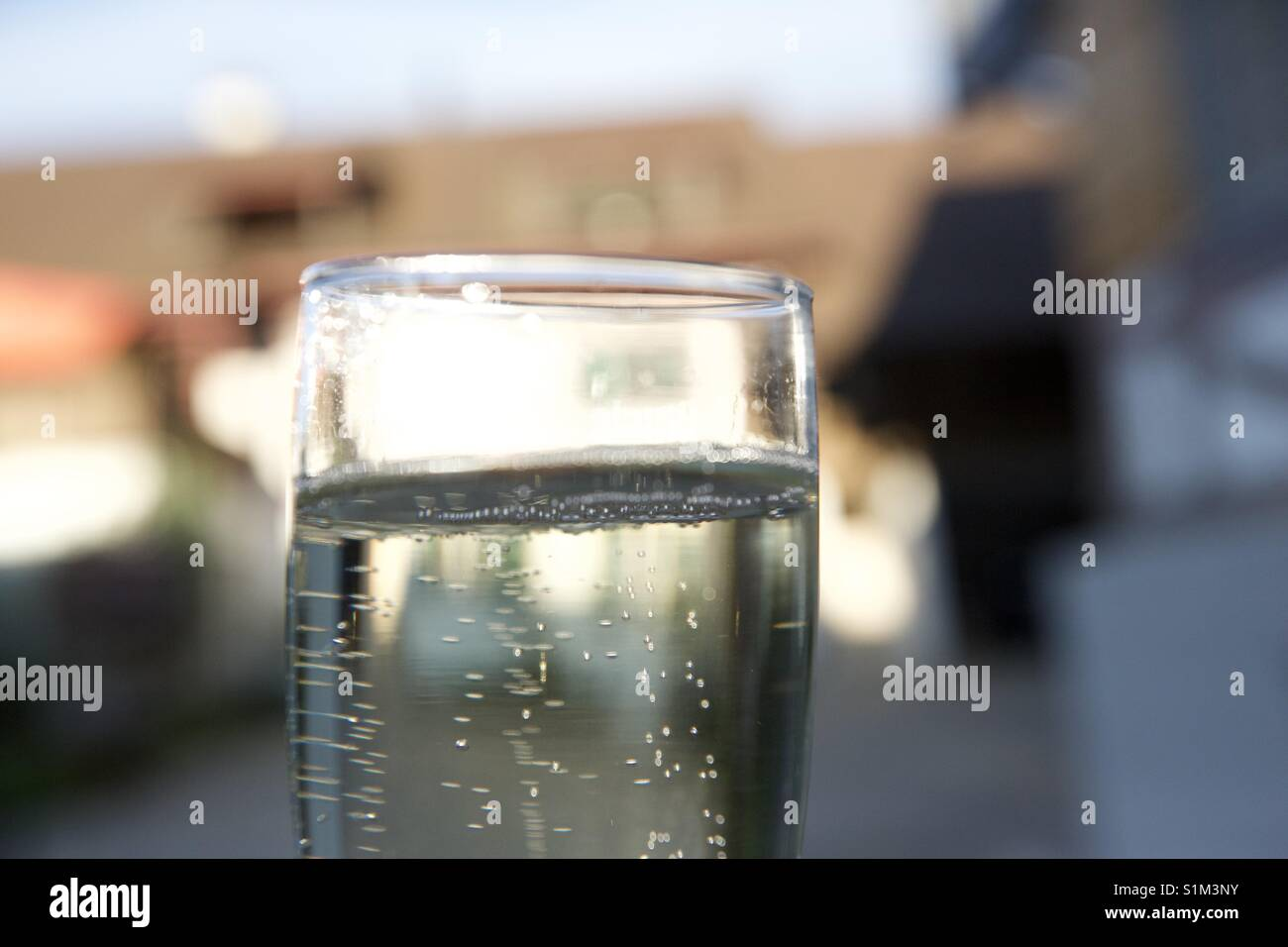 Breakout The bubbly - Stock Image