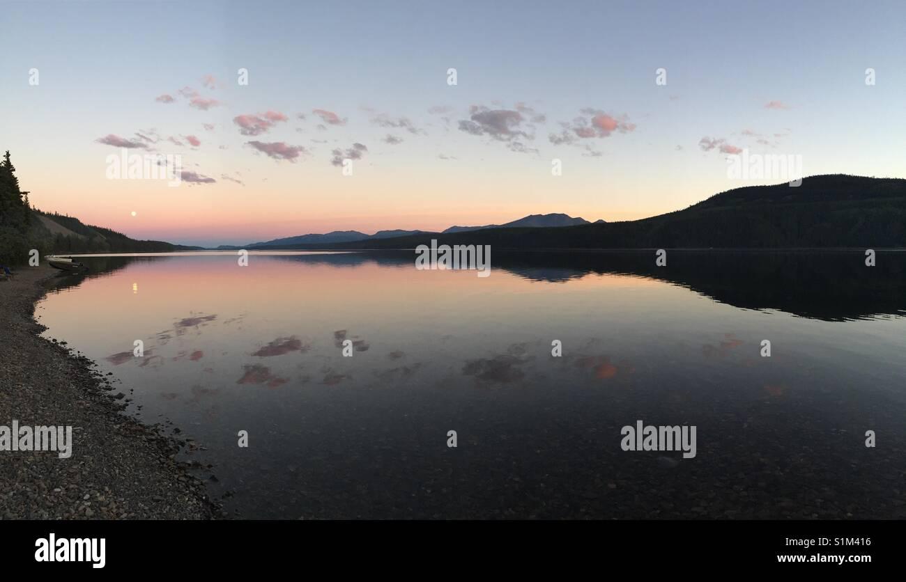 Fox Lake, Yukon, Canada - Stock Image