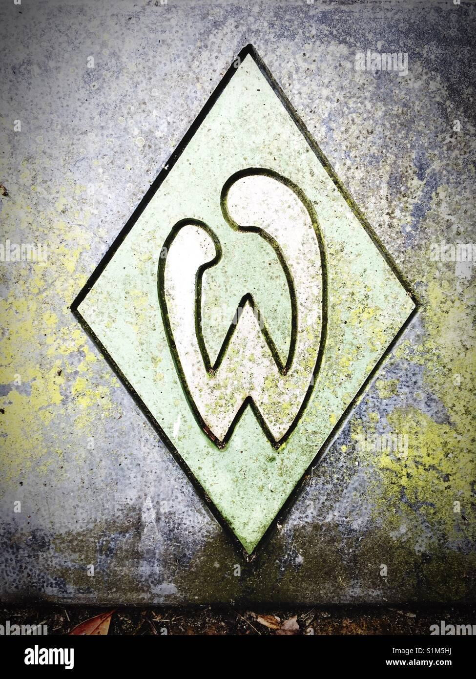 Beliebt Bevorzugt Football Logo Werder Bremen Stock Photos & Football Logo Werder #ED_15
