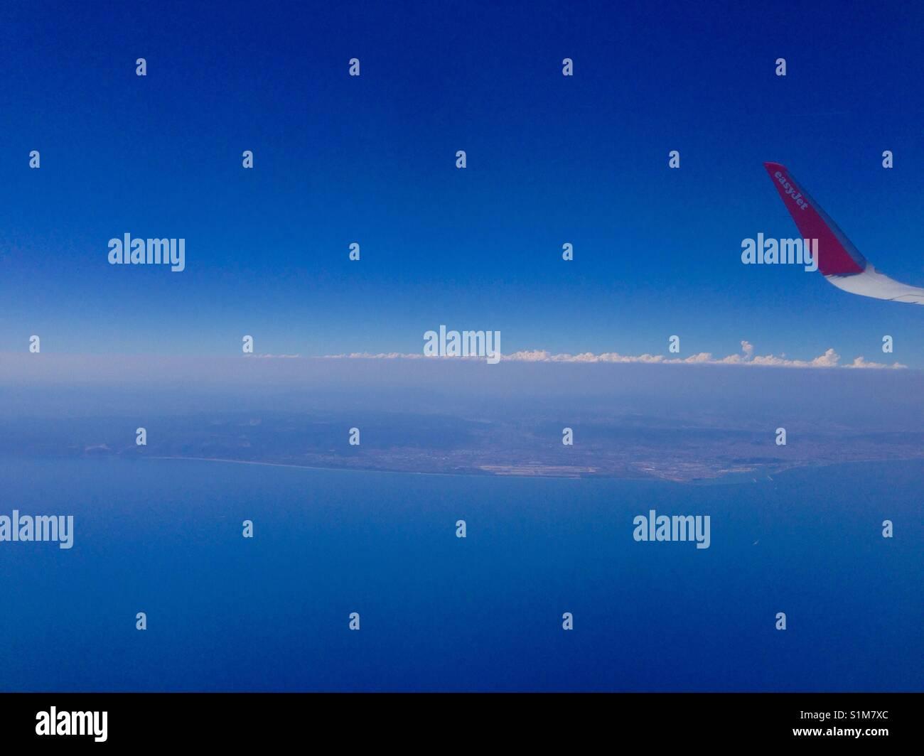 Blu Sky - Stock Image
