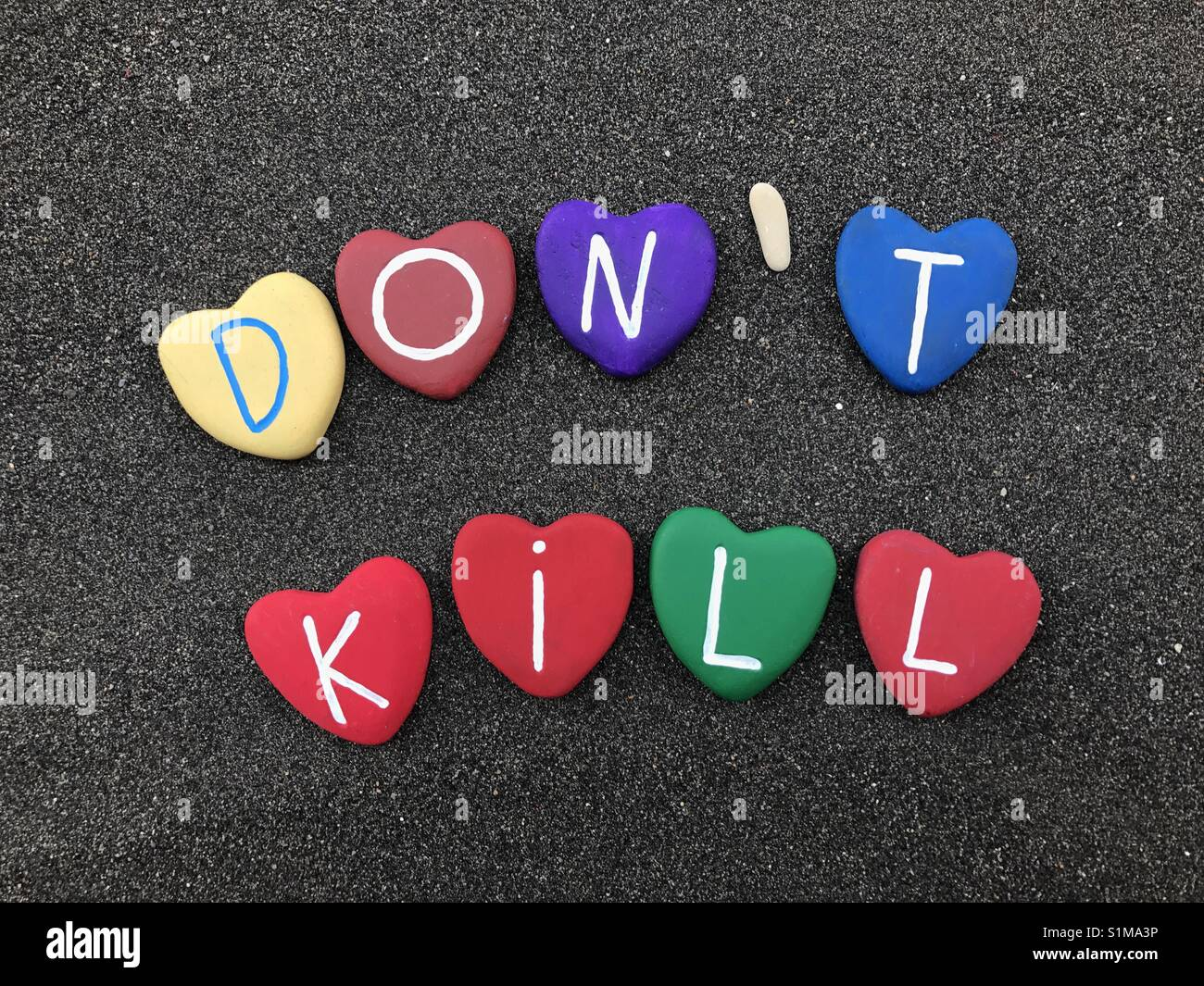Don't kill - Stock Image