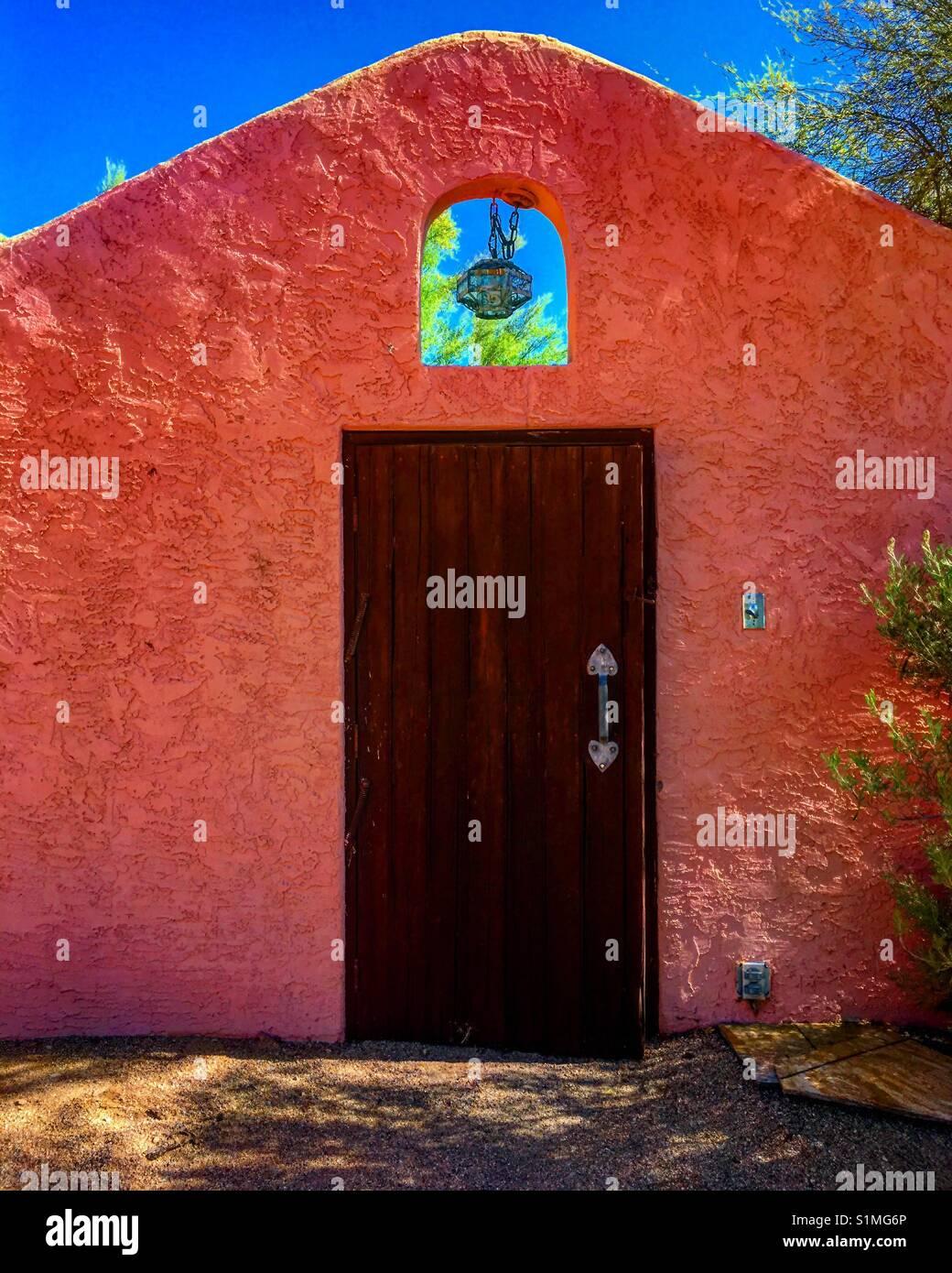 Mexican door in old Inn Phoenix Arizona. - Stock Image & Mexican Door Stock Photos u0026 Mexican Door Stock Images - Alamy