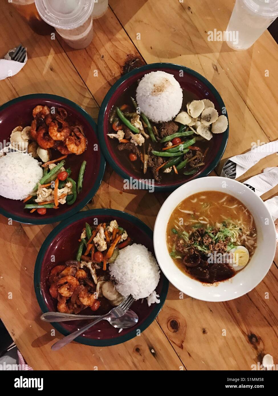 Malaysian Food - Stock Image