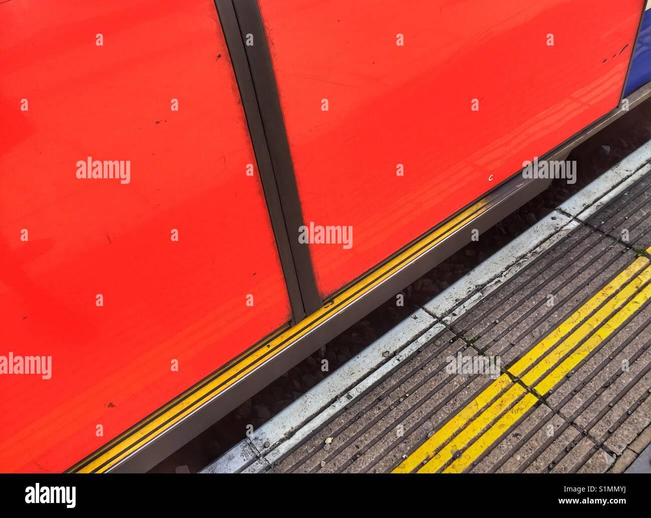 Tube train - Stock Image