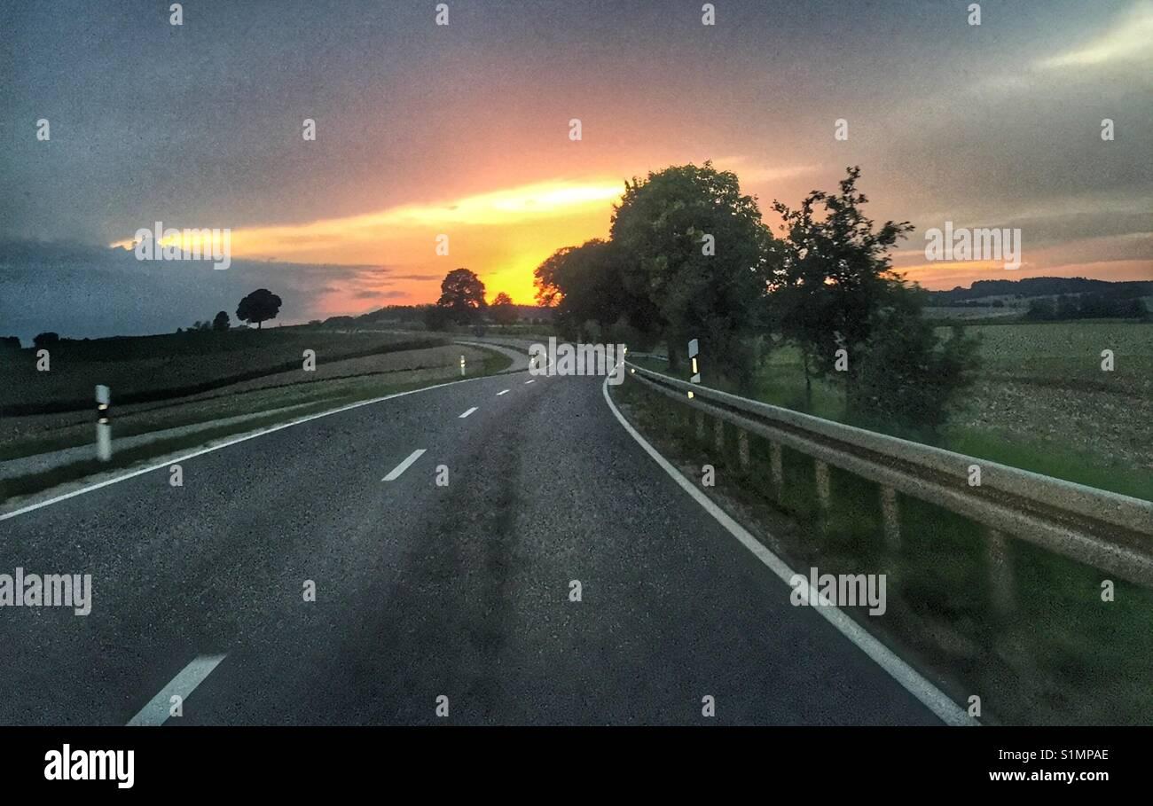 Street Highway - Stock Image
