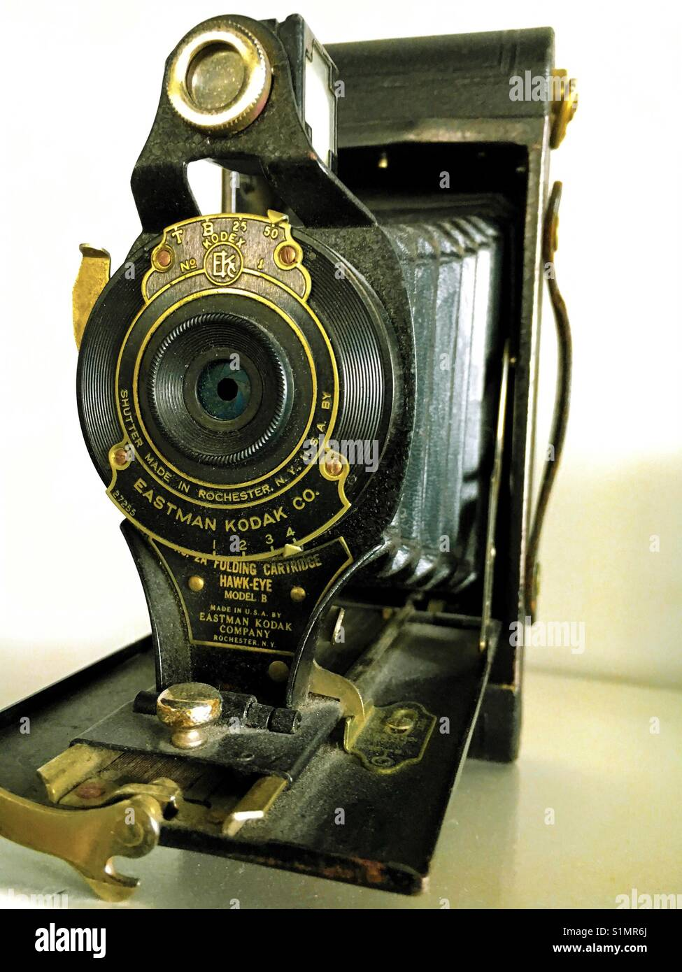 Eastman Kodak Antique Camera Stock Photo Alamy