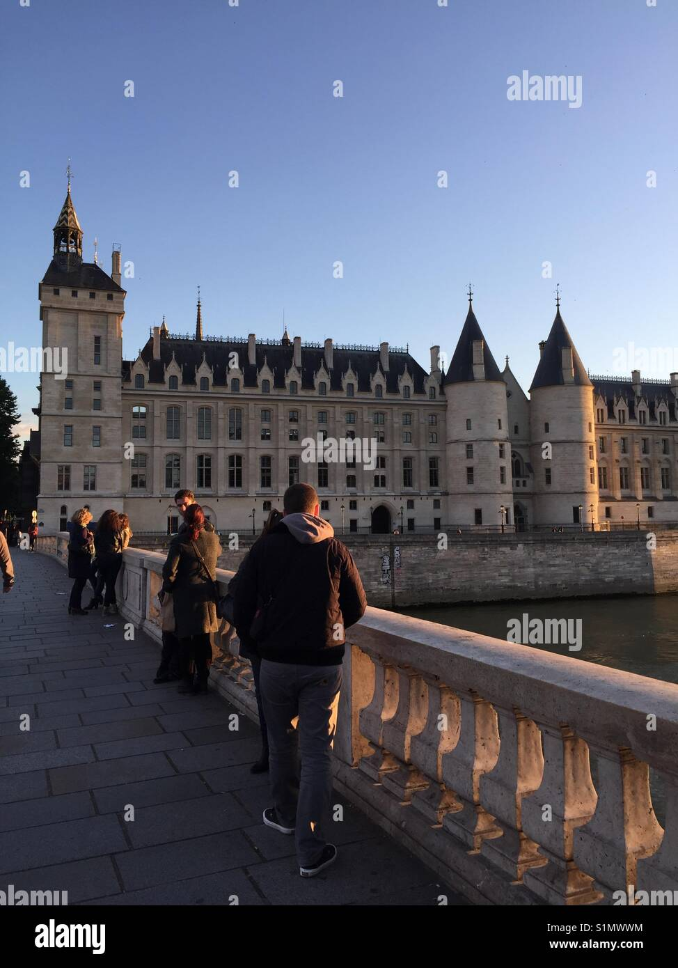 Paris streets - Stock Image
