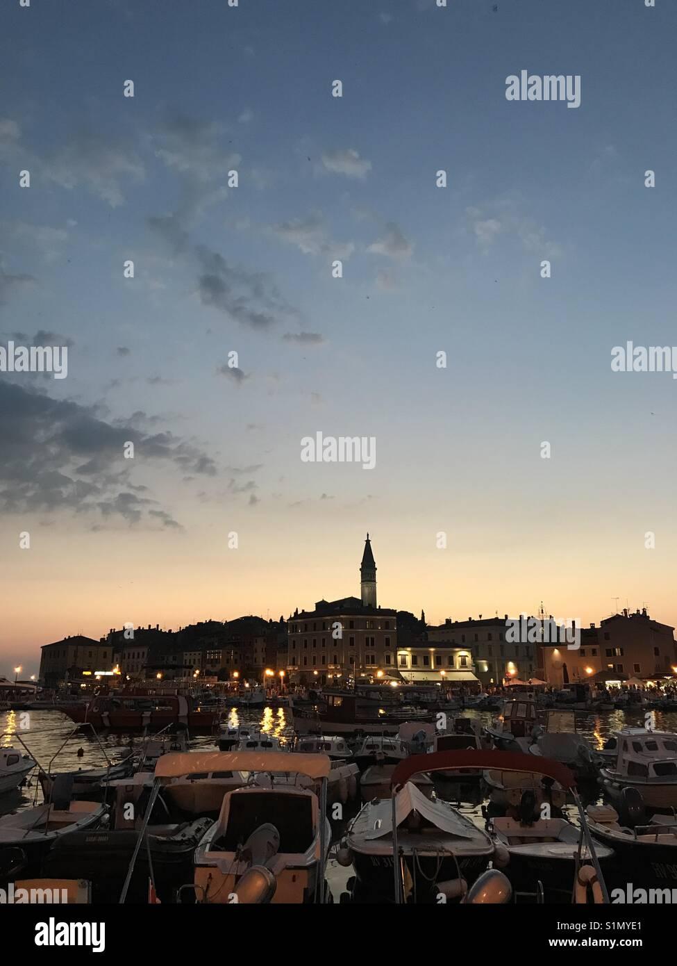 Rovigno, Croazia - Stock Image