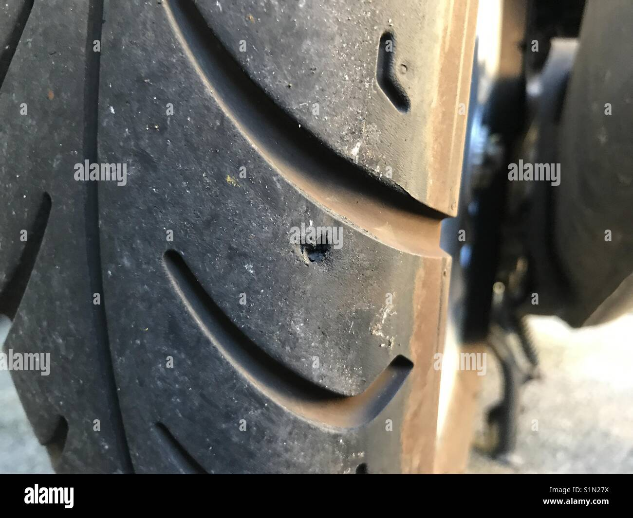 tyre puncture stock photos tyre puncture stock images alamy