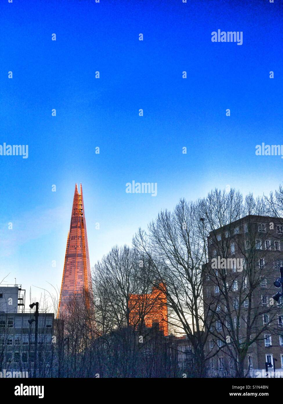 The Shard building, London - Stock Image