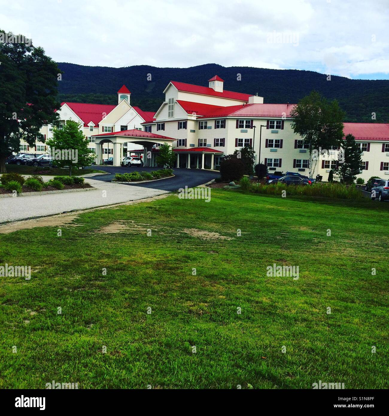 south mountain resort, lincoln, new hampshire, united states stock