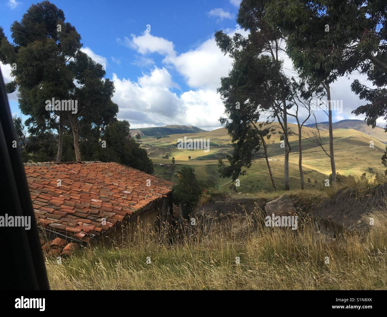 Cayambe, paisaje - Stock Image