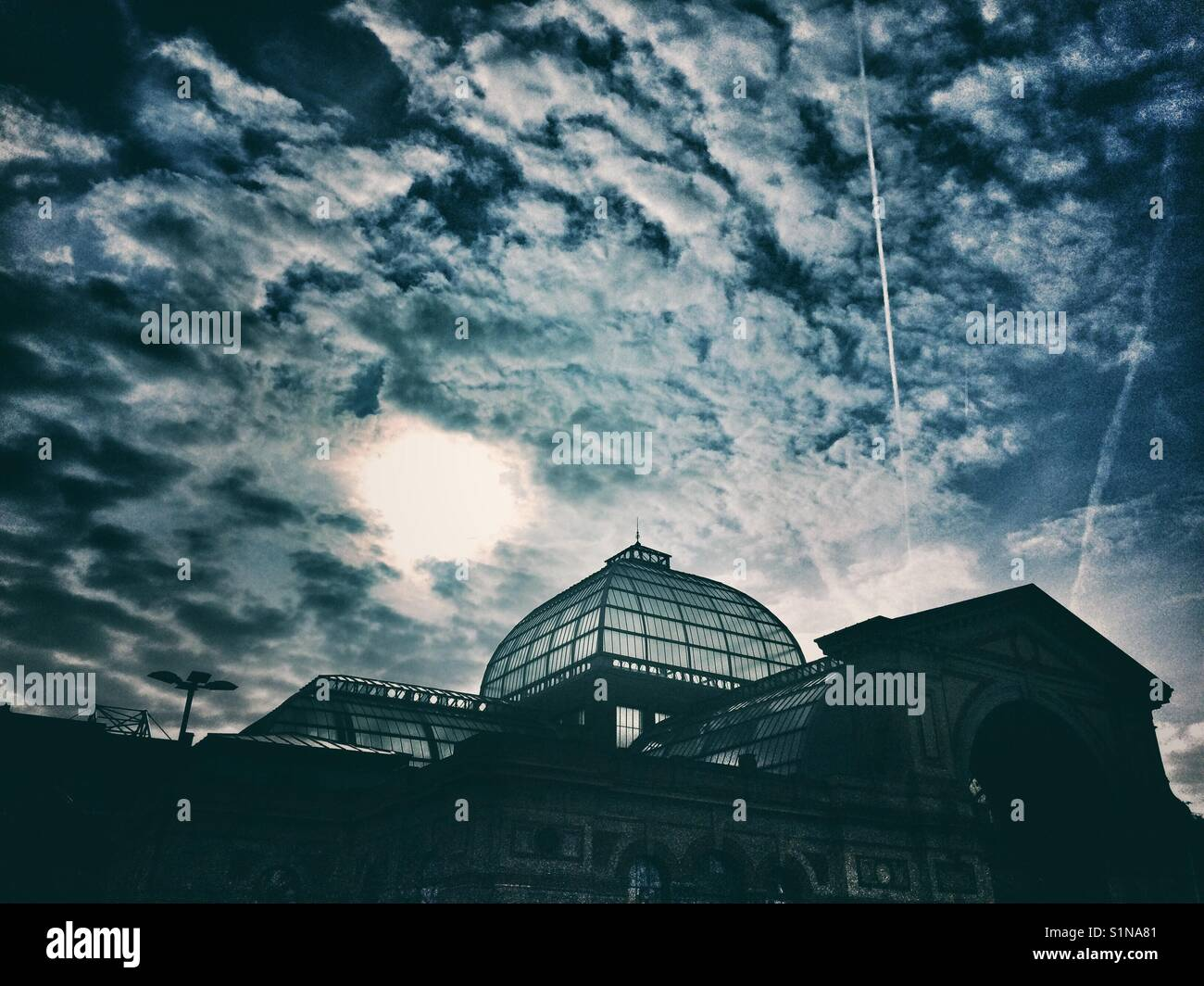 Alexandra Palace, London, UK - Stock Image