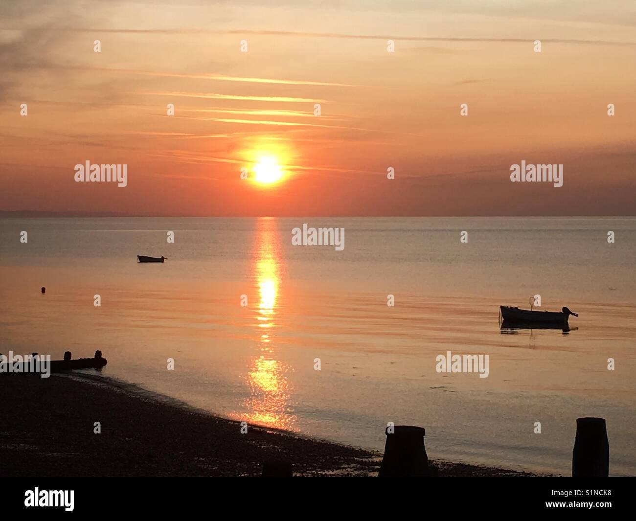 Beautiful horizons in the United Kingdom - Stock Image