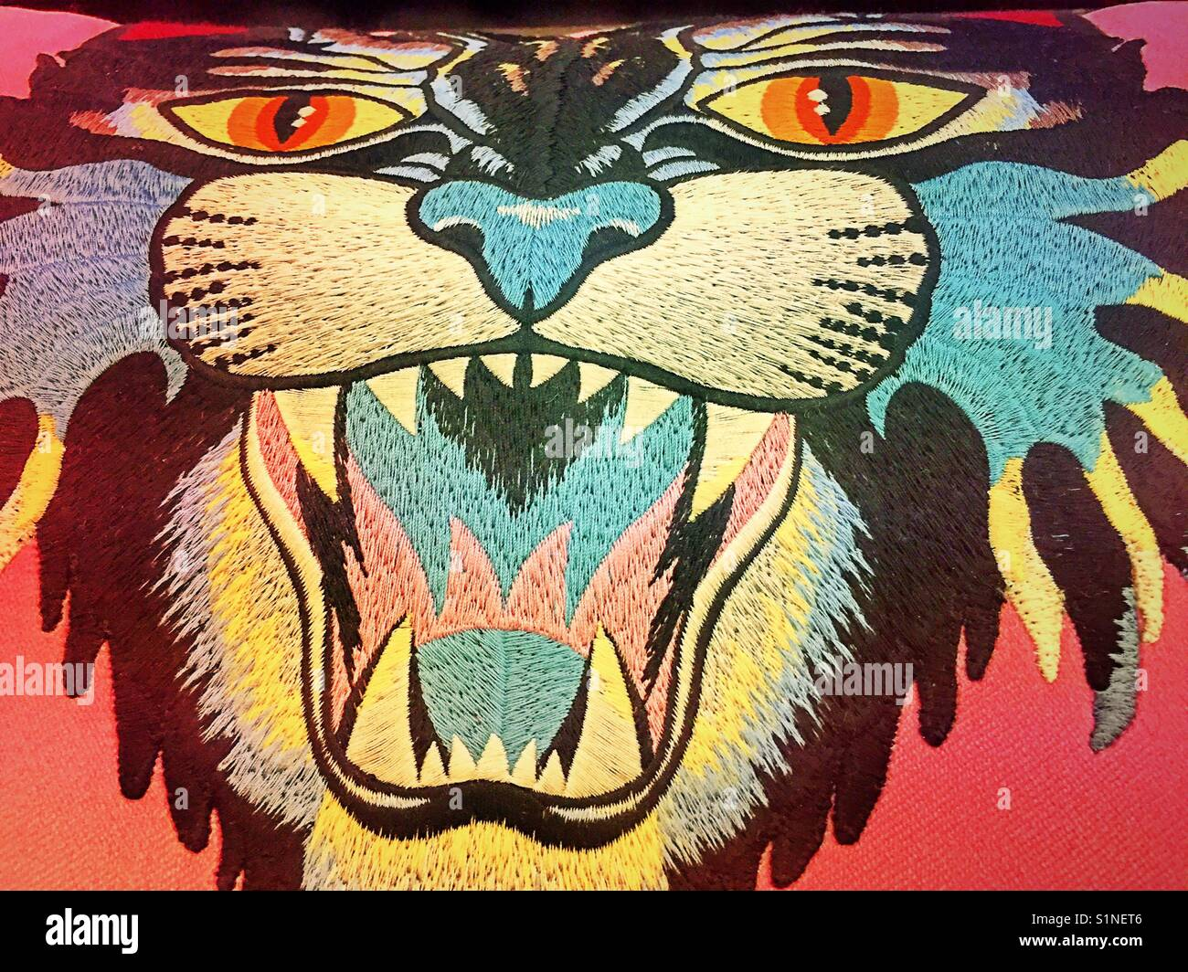 Gucci Tiger Wallpaper United States Usa Stock Photo 310873926 Alamy