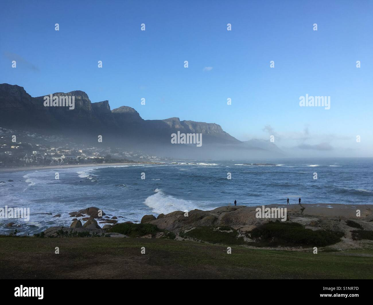 Atlantic Seaboard, Cape Town, Western Cape, South Africa - Stock Image