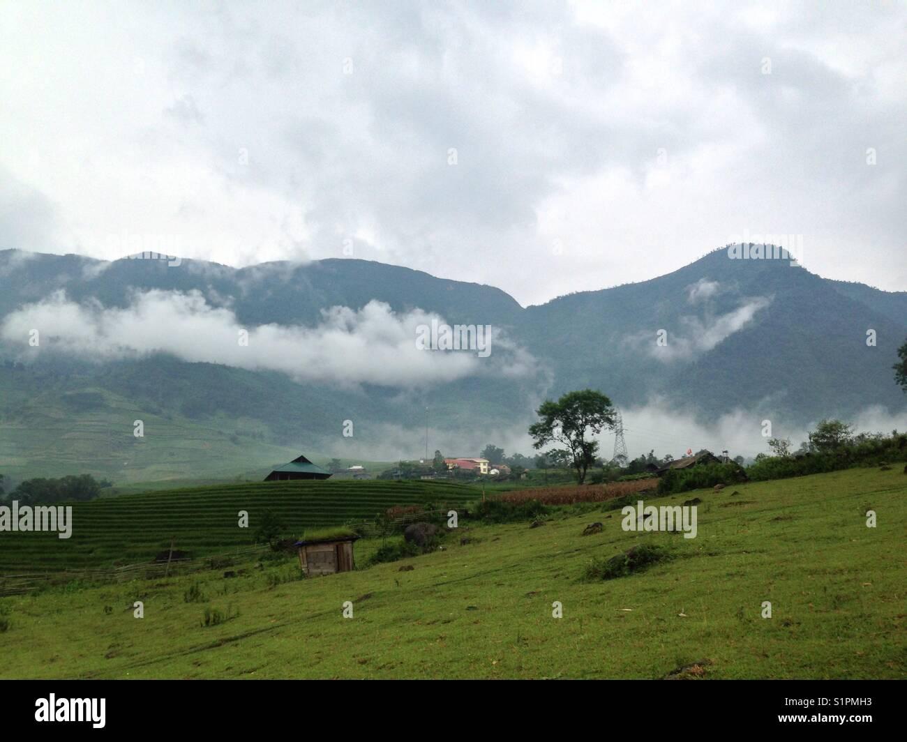 Sapa landscape - Stock Image