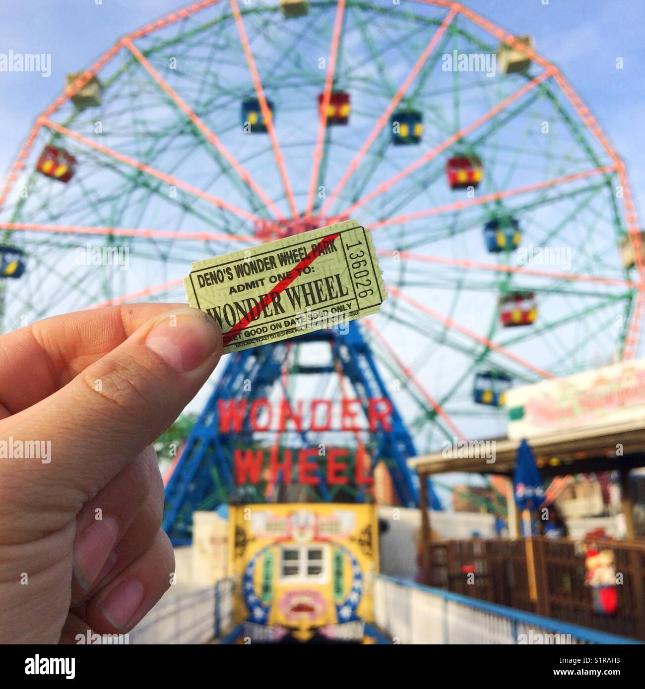 Coney Island Feris Wheel