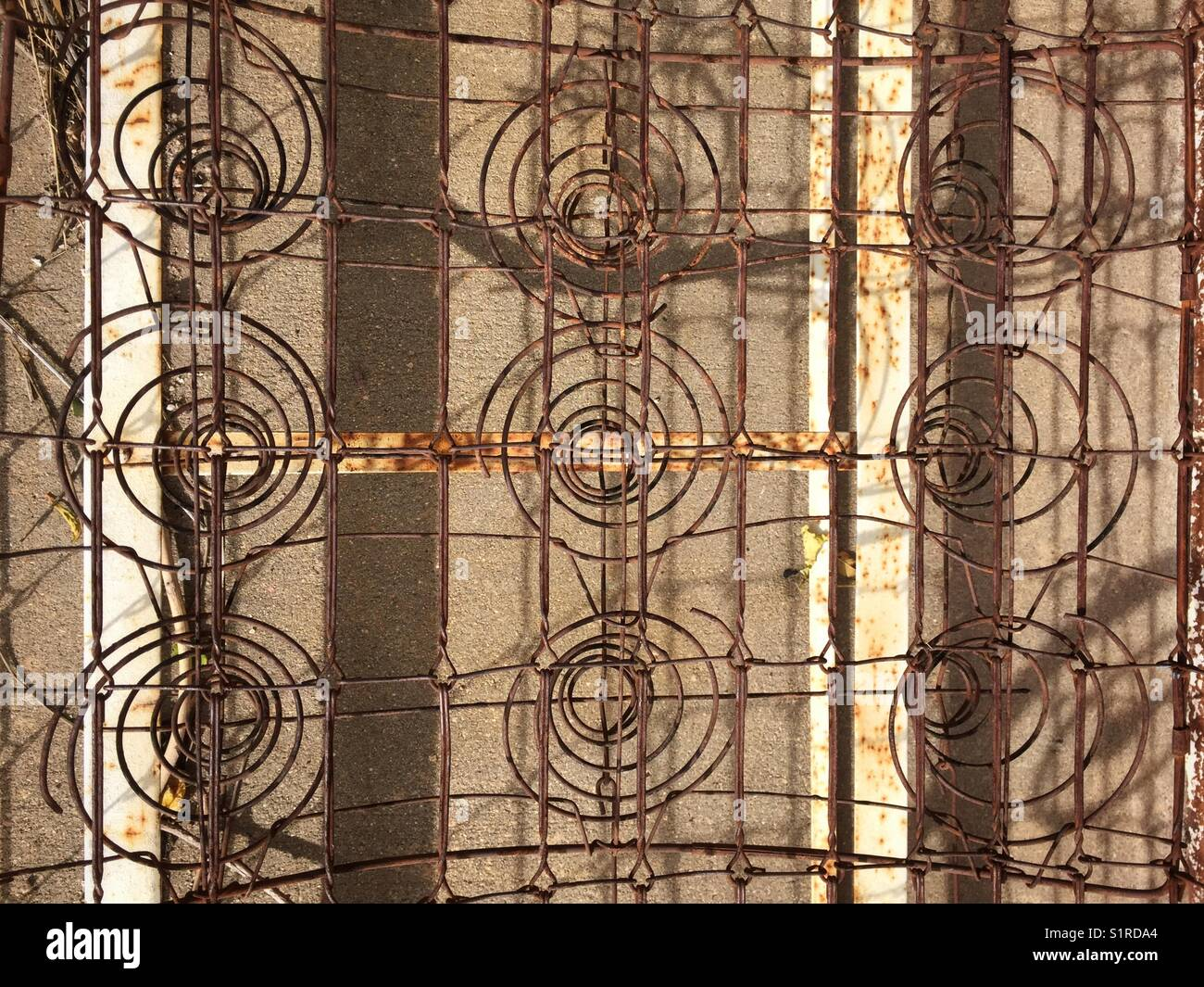 Rusty Mattress Springs High Resolution Stock Photography And Images Alamy