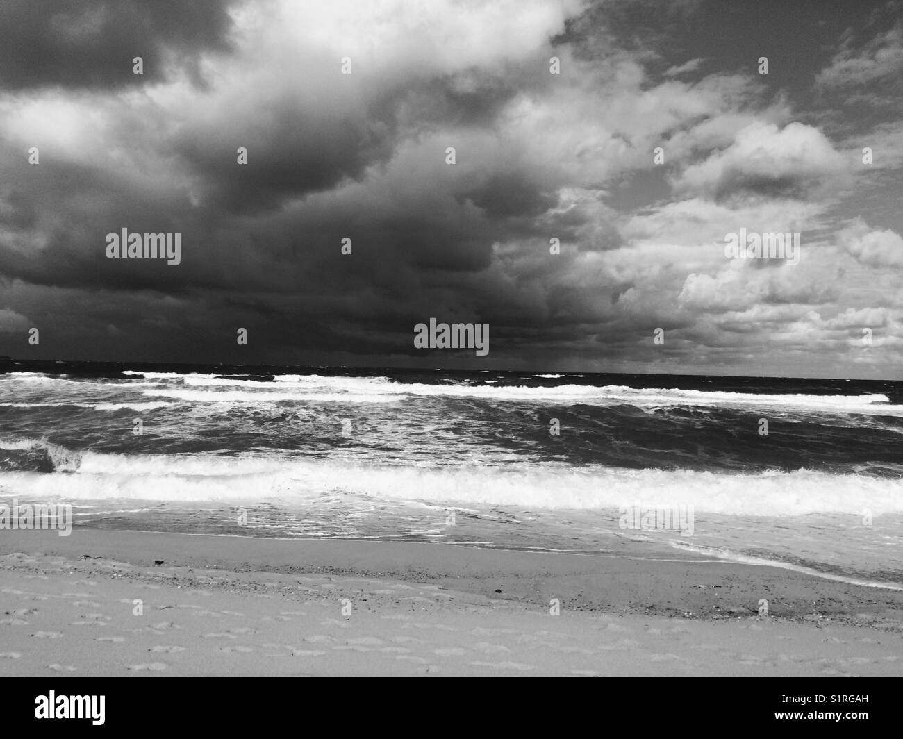 Squall incoming - Stock Image