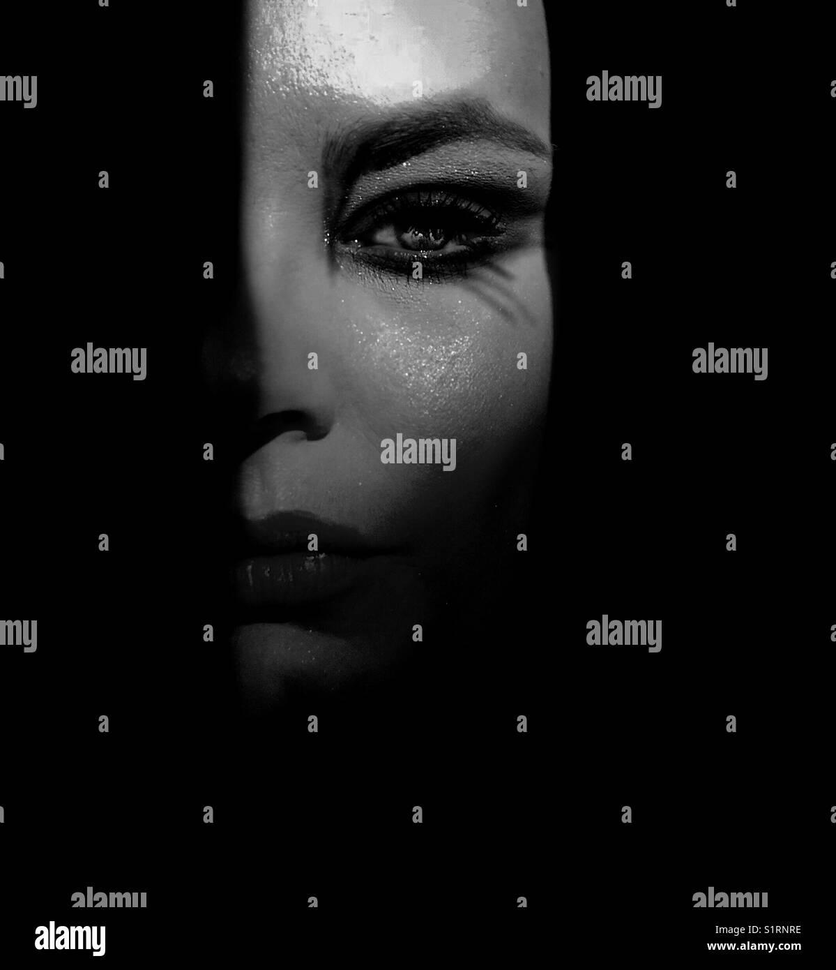 Darkness - Stock Image