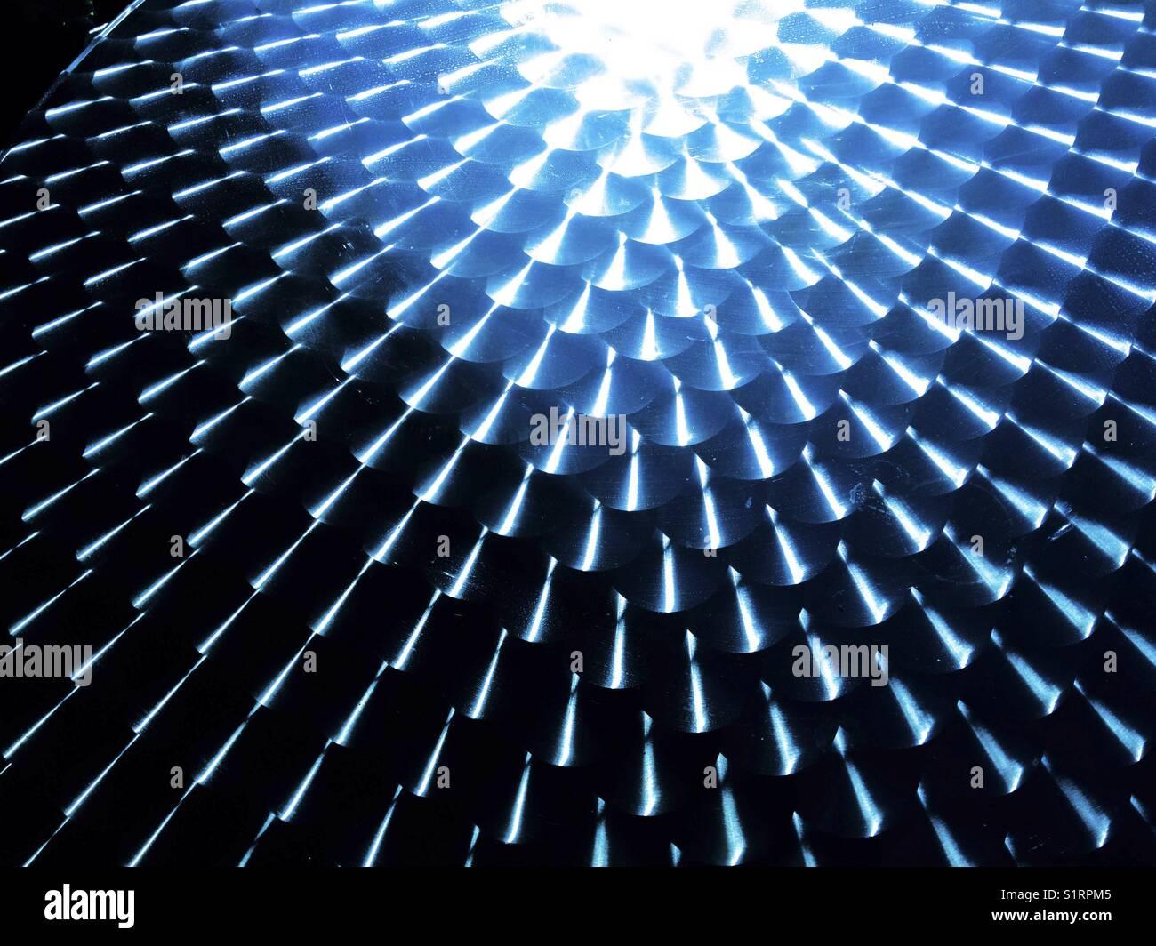 Metallic surface. - Stock Image