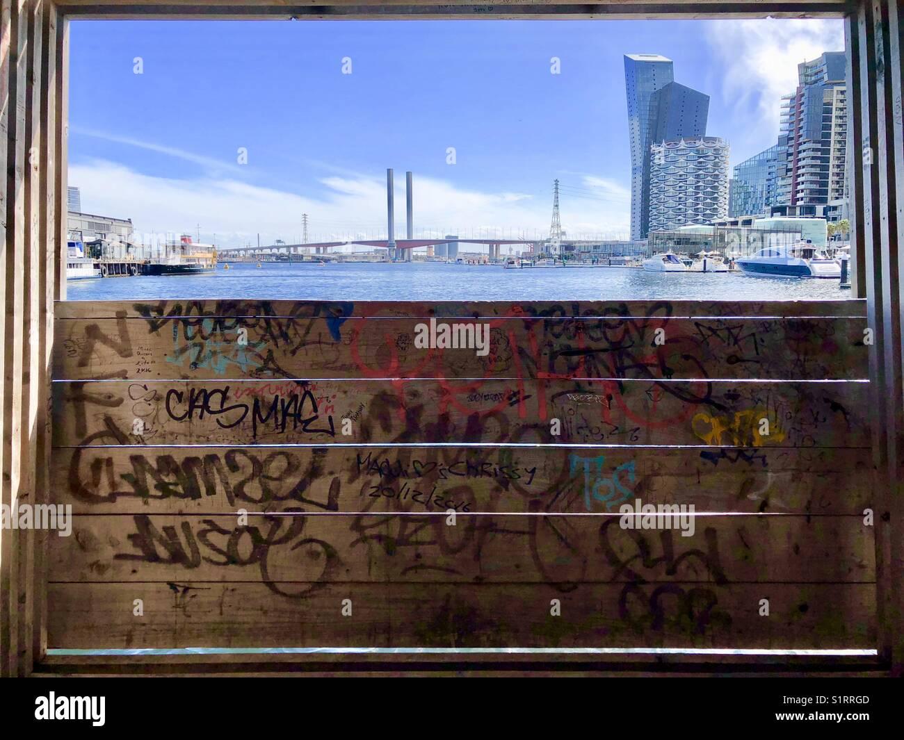 Docklands, Melbourne - Stock Image