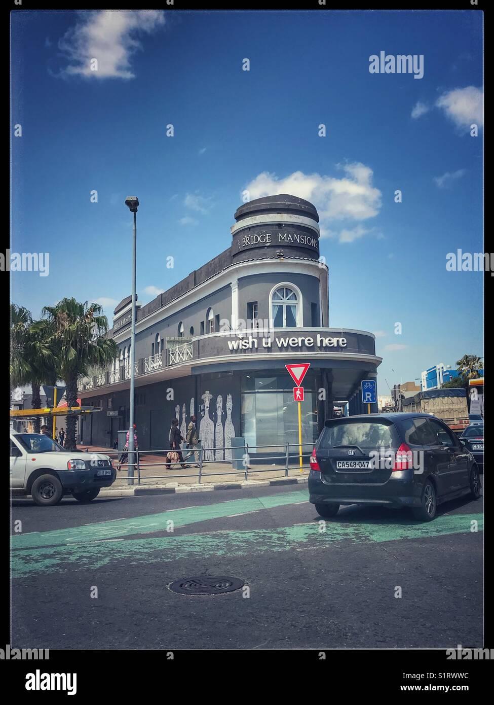 quantité limitée Vente de liquidation 2019 sur des pieds à Wish you were here, Hotel, Woodstock, Cape Town Stock Photo ...