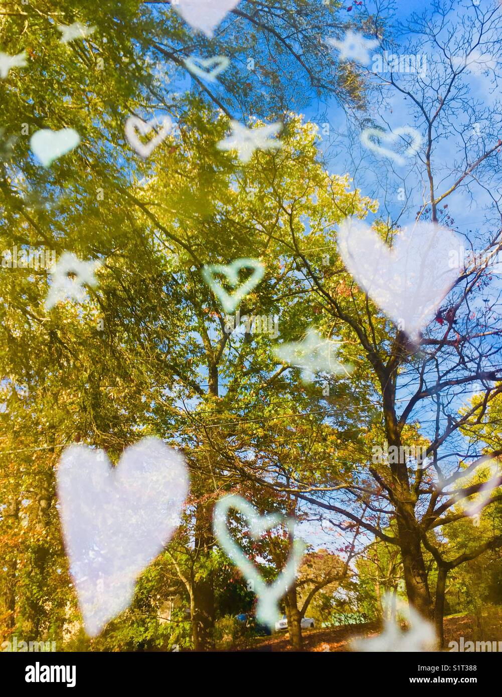 Rethink love - Stock Image