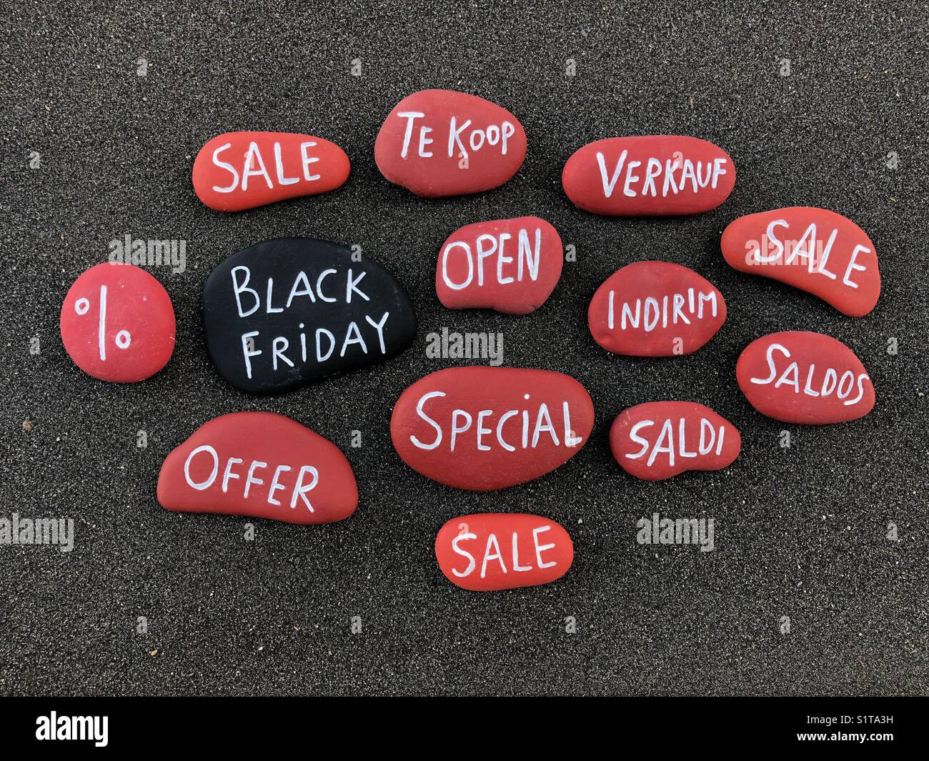 Black Friday - Stock Image