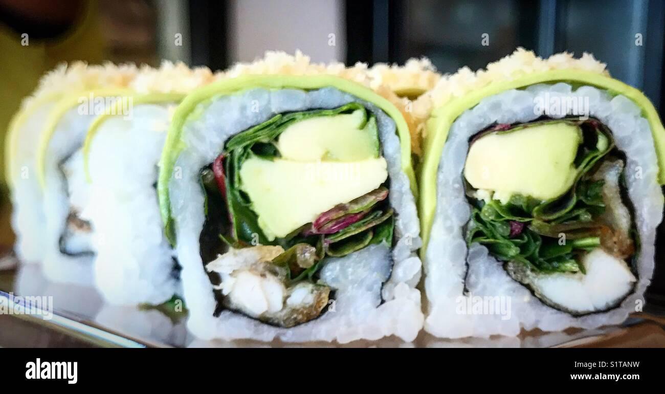 Sushi is godly - Stock Image