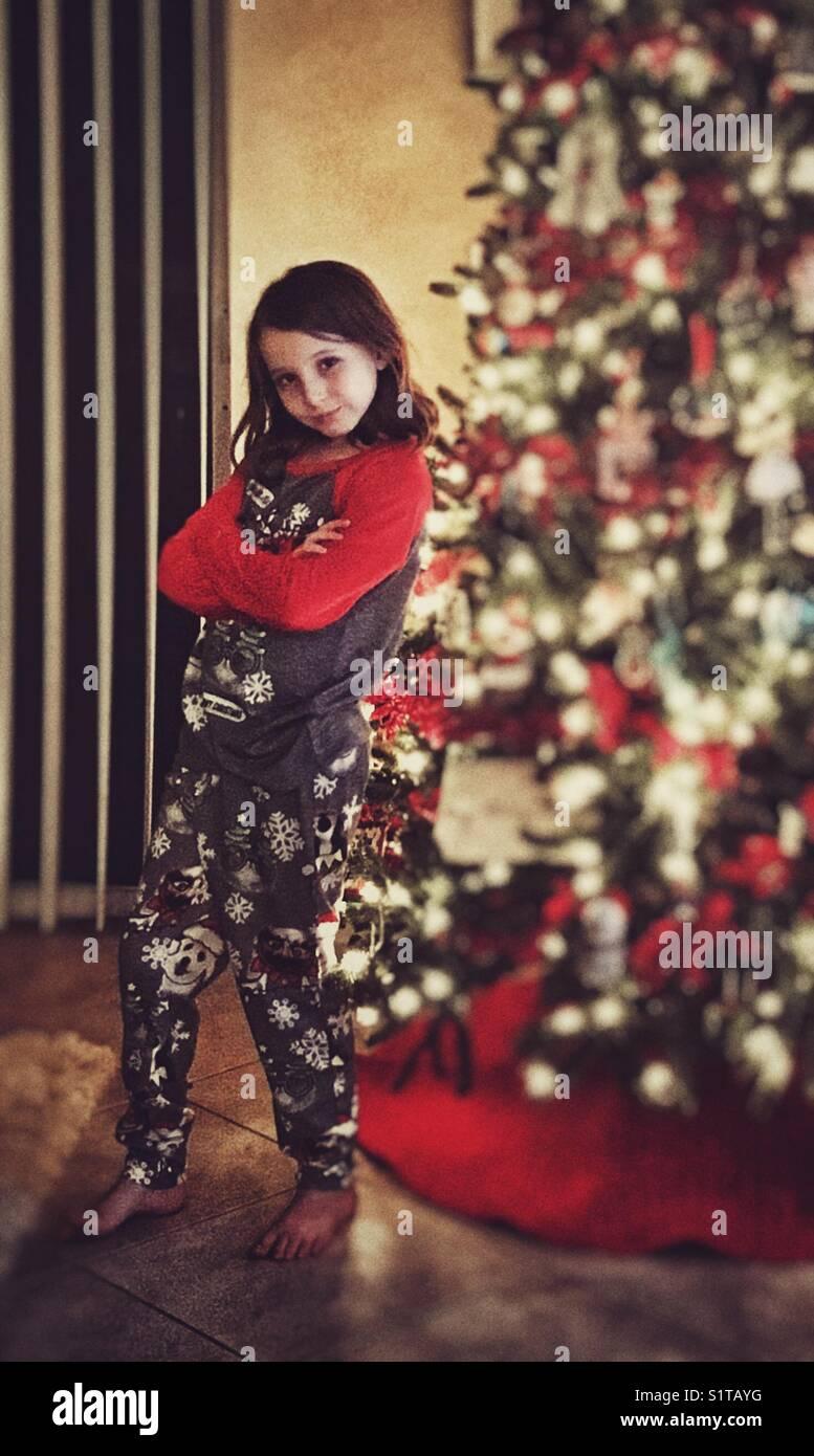 Christmastude - Stock Image