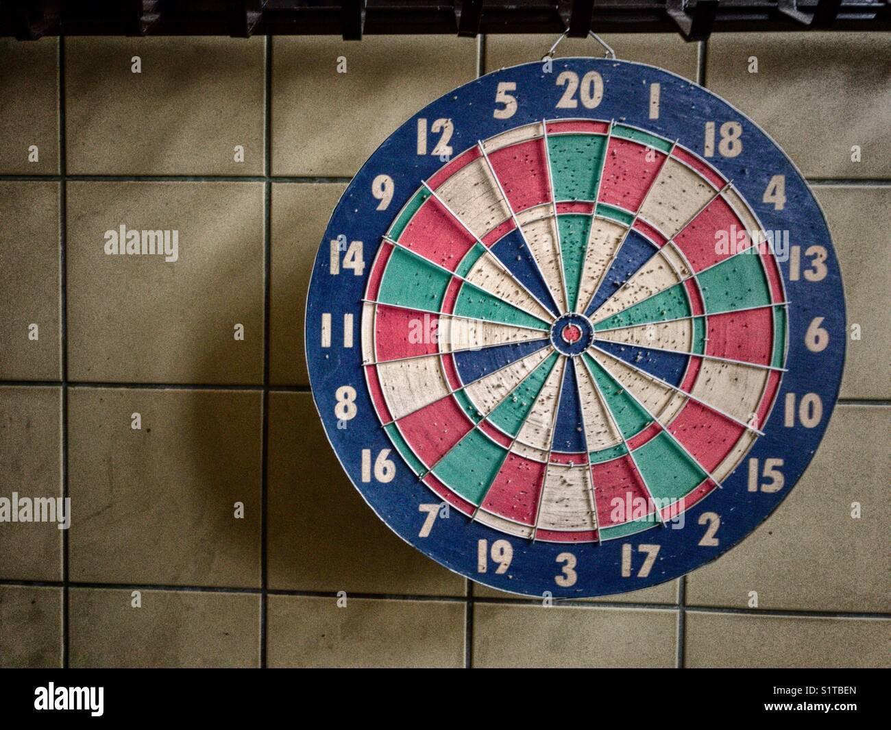 Dartboard - Stock Image
