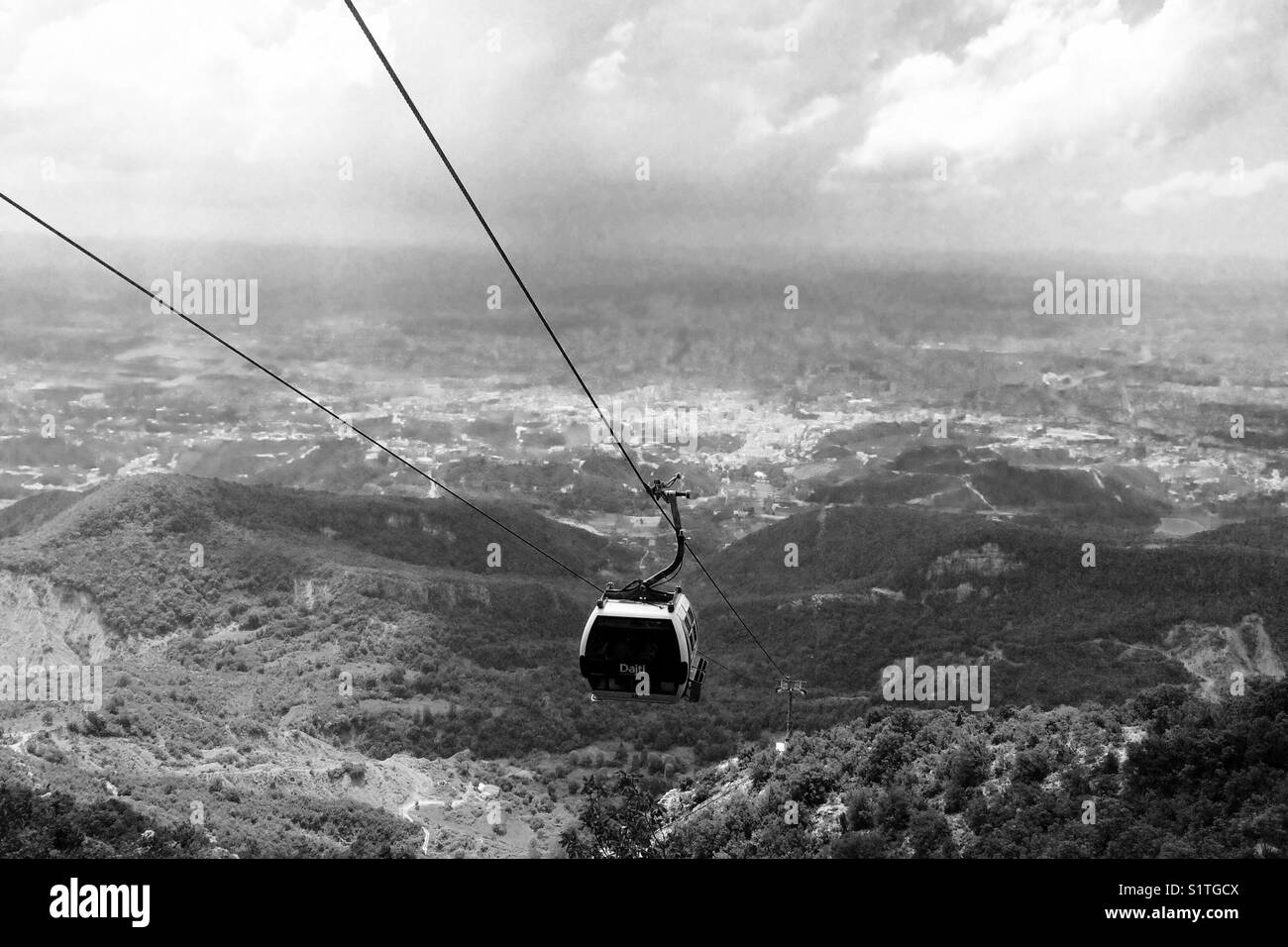 Cable car - Stock Image