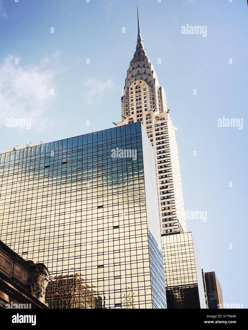 The Chrysler Building, New York City. - Stock Image