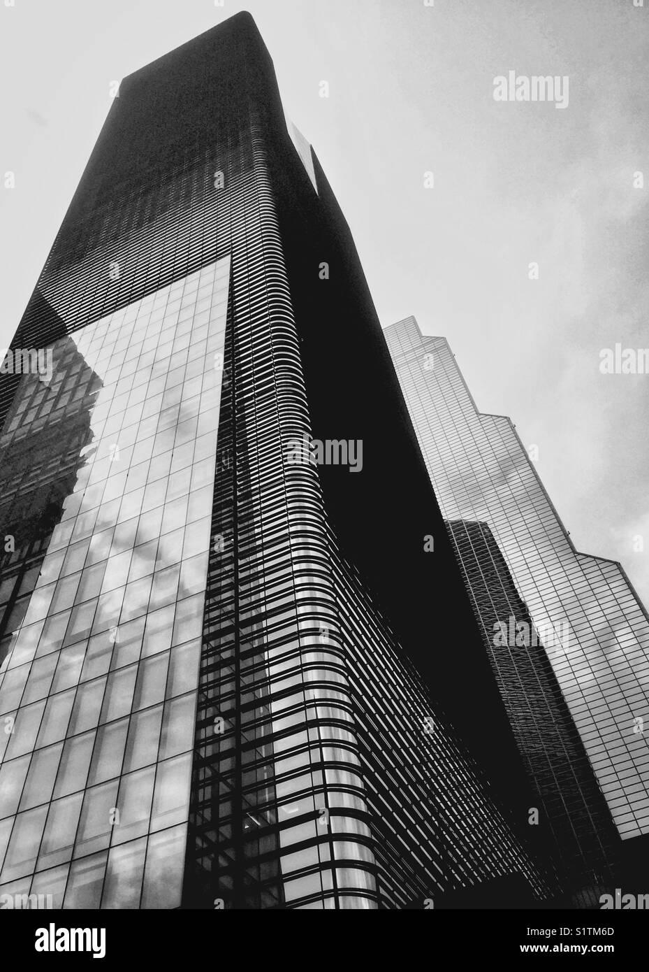 sky scraper - Stock Image
