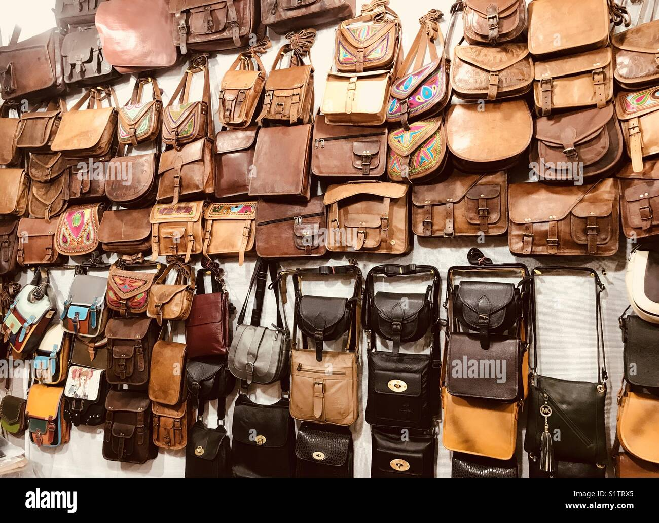 a7a5568e6dc35 Leather Bags Stock Photos & Leather Bags Stock Images - Alamy
